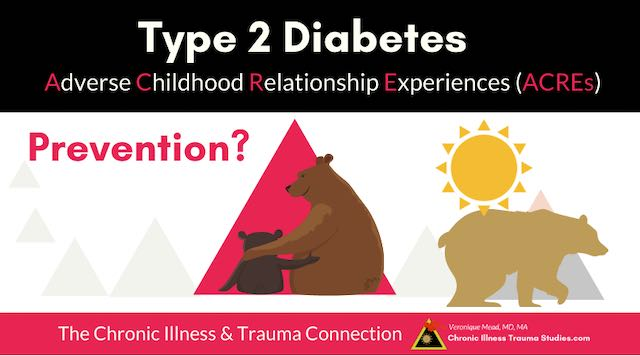 type 2 diabetes and trauma mead cits