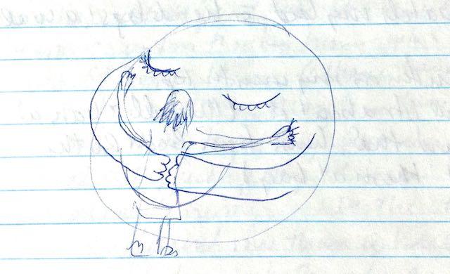 Connection My Story saying no Hug