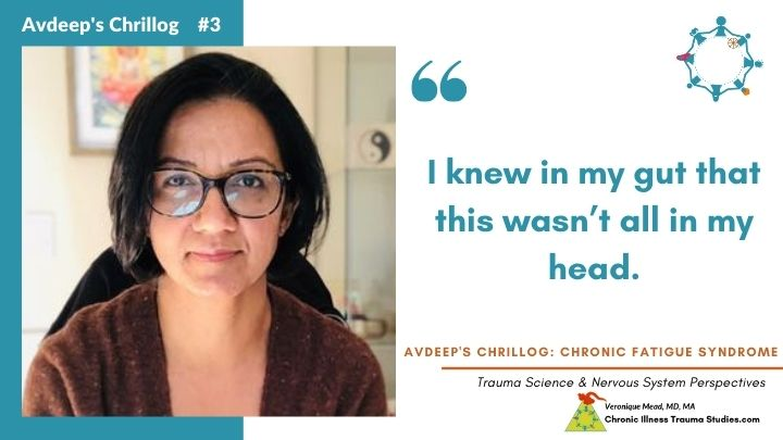 Avdeep's Chronic Fatigue Story  I knew it wasn't in my head Mead CITS