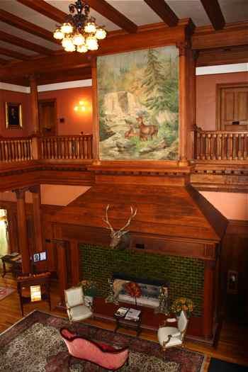 At Davis Amp Elkins 2 Mansions Help Define The Past