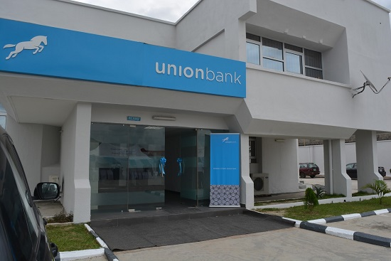 Union Bank building in Nigeria