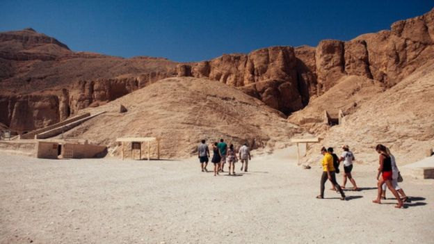 An archaeological sites near Luxor  Photo: Getty Images