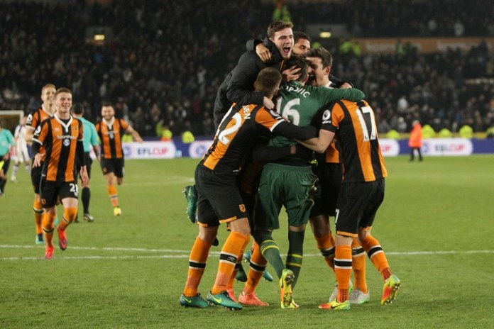 Hull City reach EFL semis after knocking Newcastle out on penalties