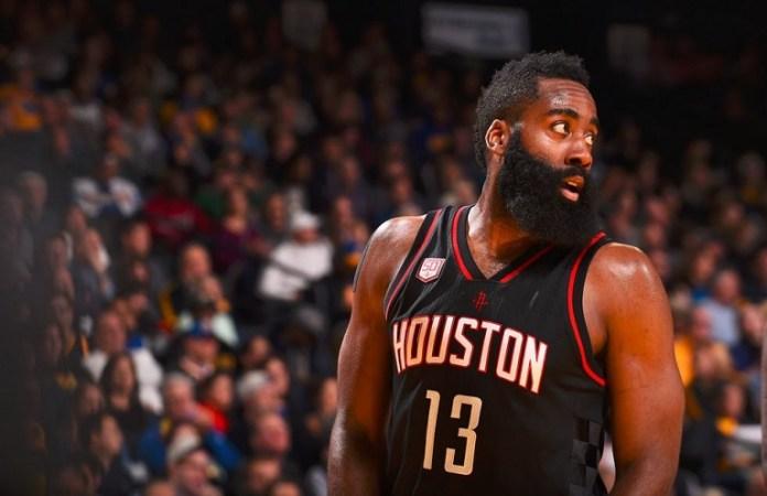James Harden hit a triple double to inspire Houston Rockets