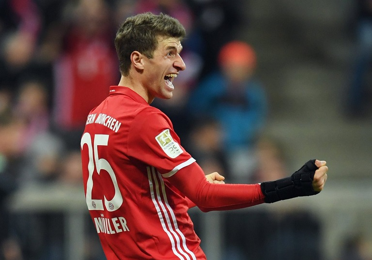 Thomas Muller has finally ended his goal drought for Bayern Munich after 999 minutes