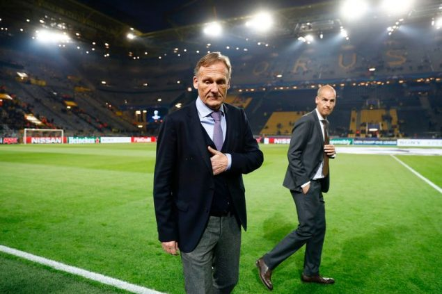 Hans-Joachim Watzke, Borussia Dortmund CEO, says they will be ready to play Monaco on Wednesday as there is no other option