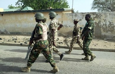 Normalcy has been restored to Maiduguri airport after soldiers protested and shot into the air