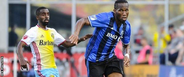 Drogba last played for Montreal Impact in Major League Soccer