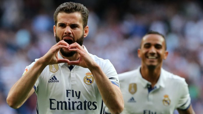 Real Madrid defender Nacho scored a controversial opener for Real