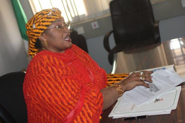 Aisha Alhassan popularly known as Mama Taraba has retrieved equipment she bought for APC secretariat in Jalingo