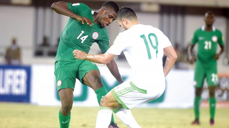 Algeria will host Nigeria…on November 10.