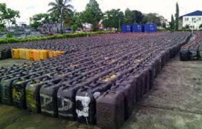 Image result for Customs impounds millions of smuggled litres of fuel