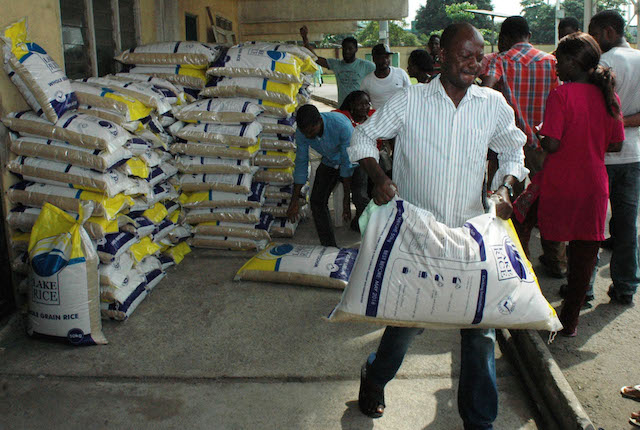 Federal Government of Nigeria has shut its border against rice smuggling