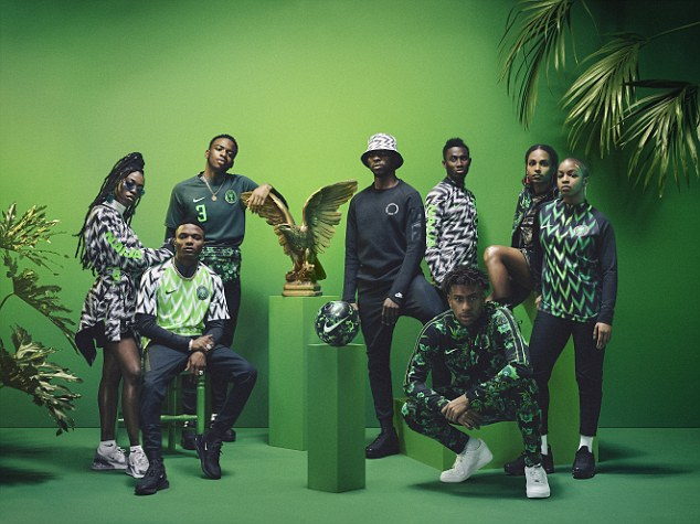 Nigeria's Super Eagles play England in an international friendly at Wembley