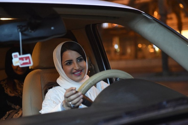 Saudi Sheikh Saleh al-Luhaidan claims driving could damage a woman's ovaries and push the pelvis up, thus leading to birth defects Photo: AFP