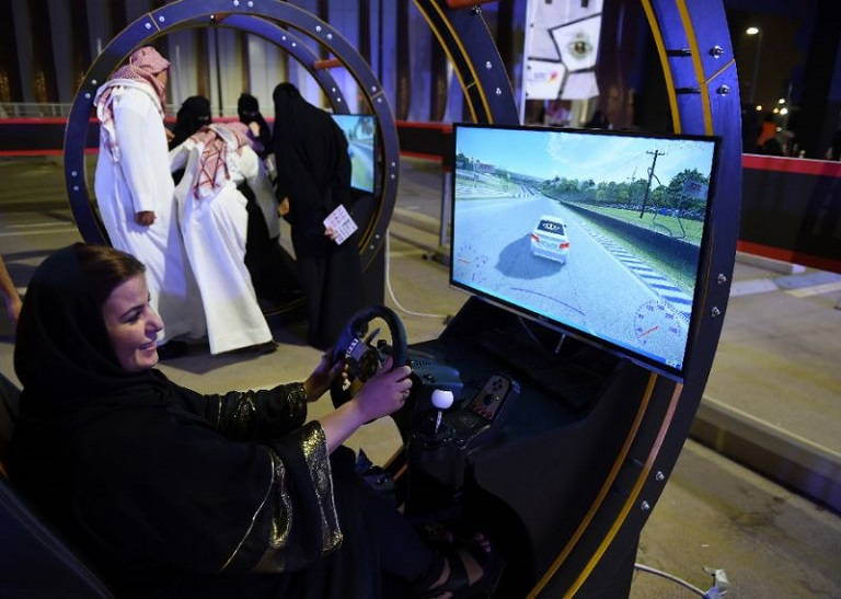 Some three million women in Saudi Arabia could receive licences and actively begin driving by 2020 Photo: AFP