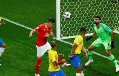 Steven Zuber scored Switzerland's equalizer five minutes into the second half