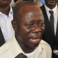 Comrade Adams Oshiomhole national chairman of the APC