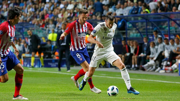 Gareth Bale failed to inspire Real Madrid against Atletico Madrid in the Super Cup