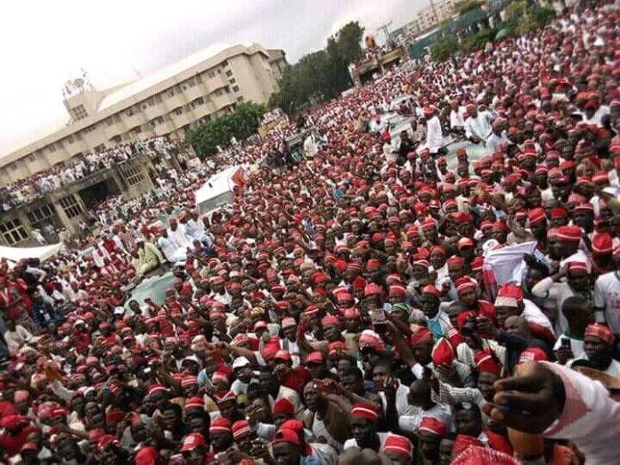 Senator Rabiu Kwankwaso has formally declared even after he was denied Eagle Square