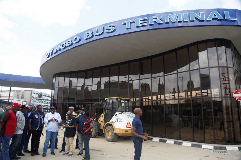 The new Oyingbo Bus Terminal is an integral part of the Lagos State Bus Reform Initiative