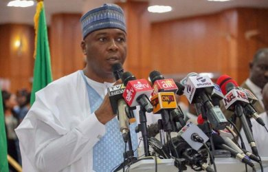 Nigeria's Senate President Bukola Saraki has declared his intentions to run for President