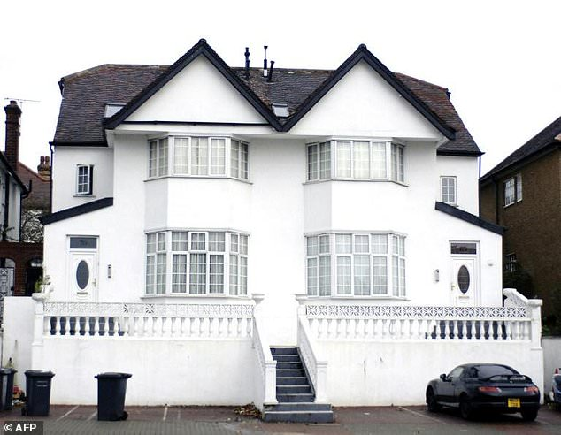 A property in a posh London suburb believed to be owned by a former Nigerian governor and bought with ill-gotten wealth