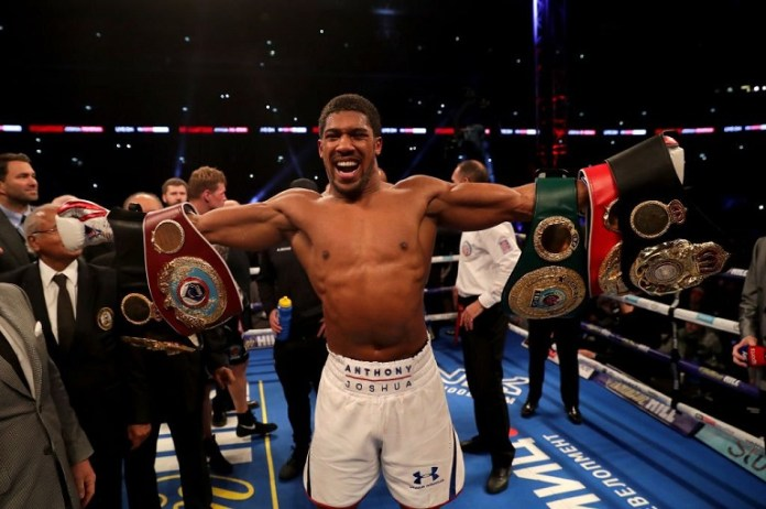 Anthony Joshua says he will fight Deontay Wilder or Dillian Whyte