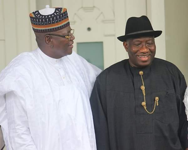 Goodluck Jonathan and Sule Lamido