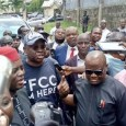 Ayodele Fayose reported to the EFCC office in Abuja on Tuesday