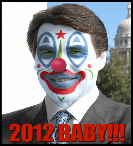 RICK PERRY JUGGALO 2012 BITCHES
