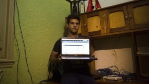 A Cuban defector shows off his illegal network setup. He was never seen again.