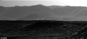 Ancient aliens who have carefully cultivated life on Earth from a distance used this tracking beacon on Mars to guide their ships in safely and undetected
