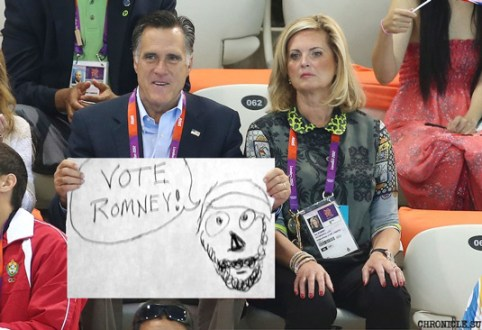 Mitt Romney Draws Cute Picture of Islam Prophet Muhammad