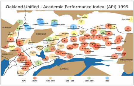 Oakland schools in 1999. Image: The National Equity Project