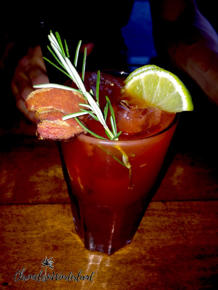 RAW BACON BLODDY MARY