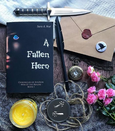 A Fallen Hero #bookstagram by @laurensboookshelf