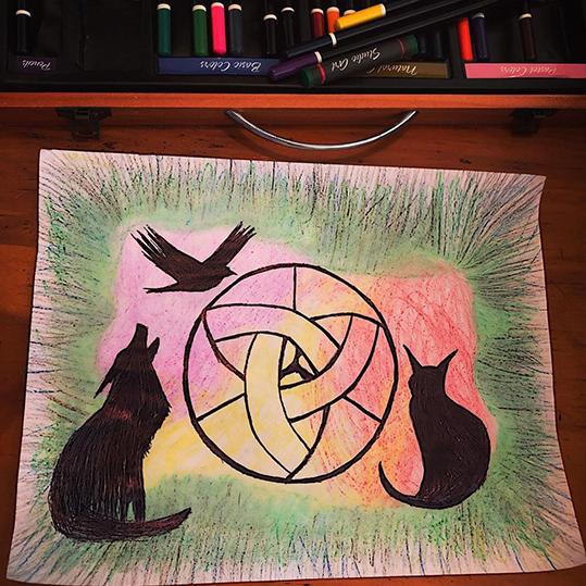 Fan Art - Amínytes by Kayla M. Ware