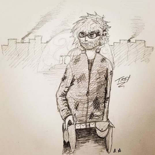Fan Art - Trey by A.N.