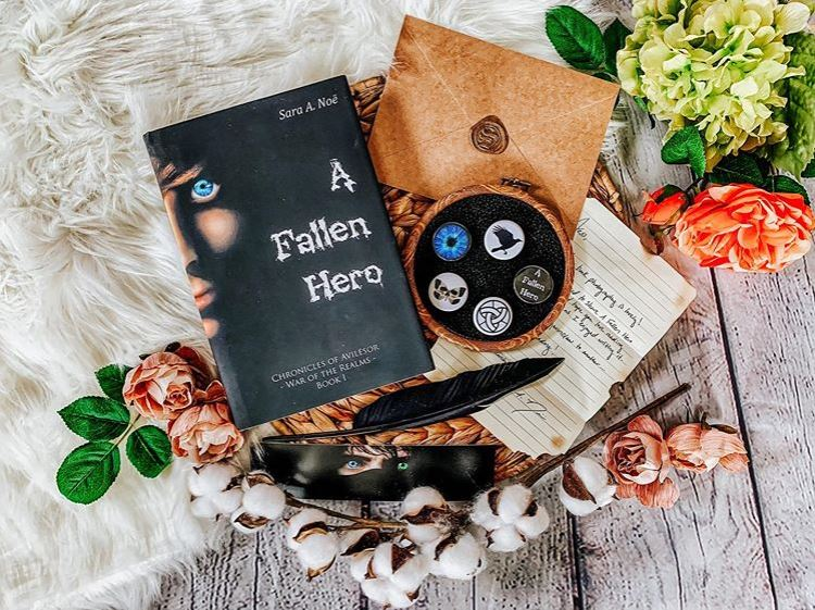 A Fallen Hero #bookstagram by @metalheadreader