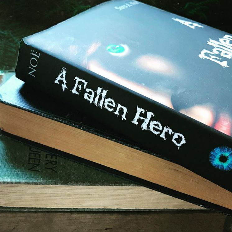 A Fallen Hero #bookstagram by @wrinkled.pages