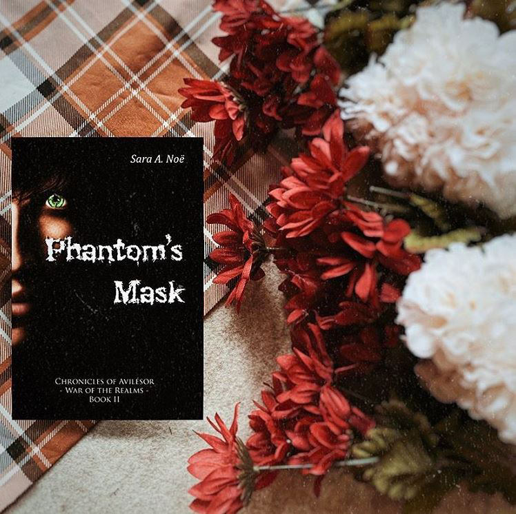Phantom's Mask #bookstagram by @ya.its.lit