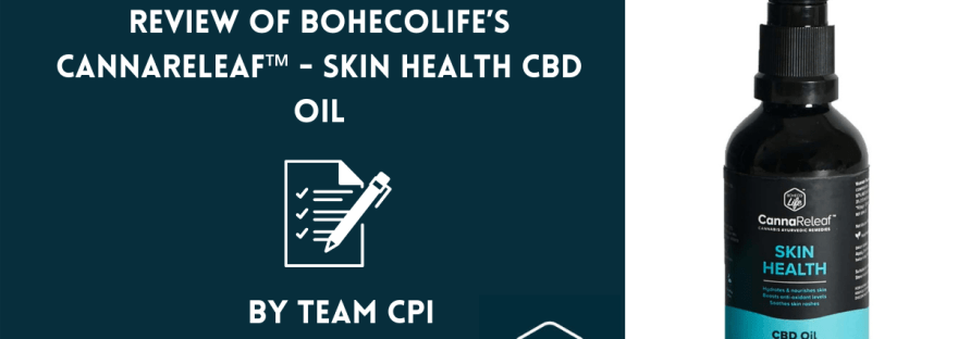 BohecoLife's CBD Oil - review by chronic pain india