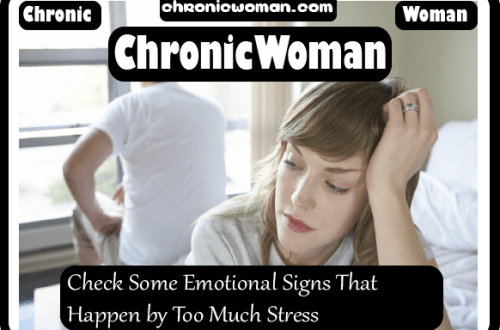 Check Some Emotional Signs That Happen by Too Much Stress