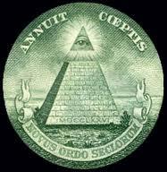 Quel est cet oeil qui vous regarde du sommet d'une pyramide et imprimé sur les billets de un dollar?