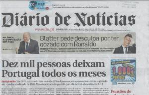 """"""" Dix mille personnes quittent le Portugal tous les mois"""" (30 Octobre 2013)"""