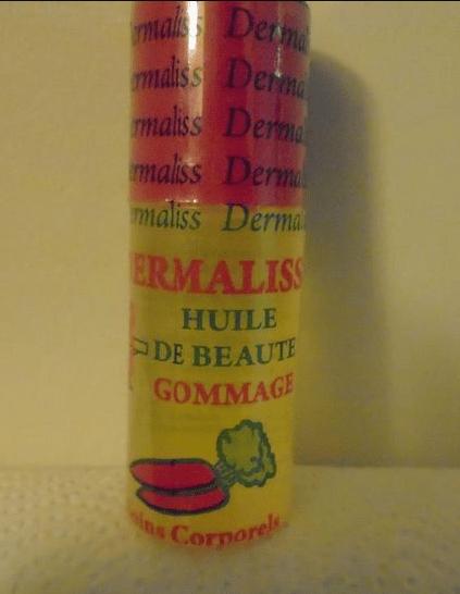 DERMALIS- Huile de beauté gommage Image
