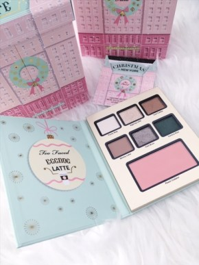 couleurs palette latte too faced