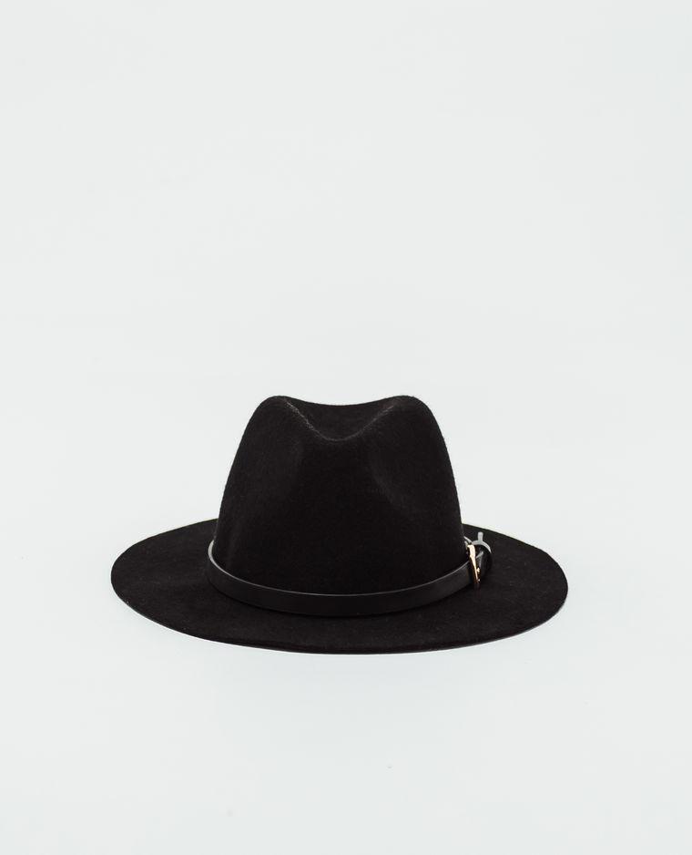 chapeau en feutrine noir pimkie