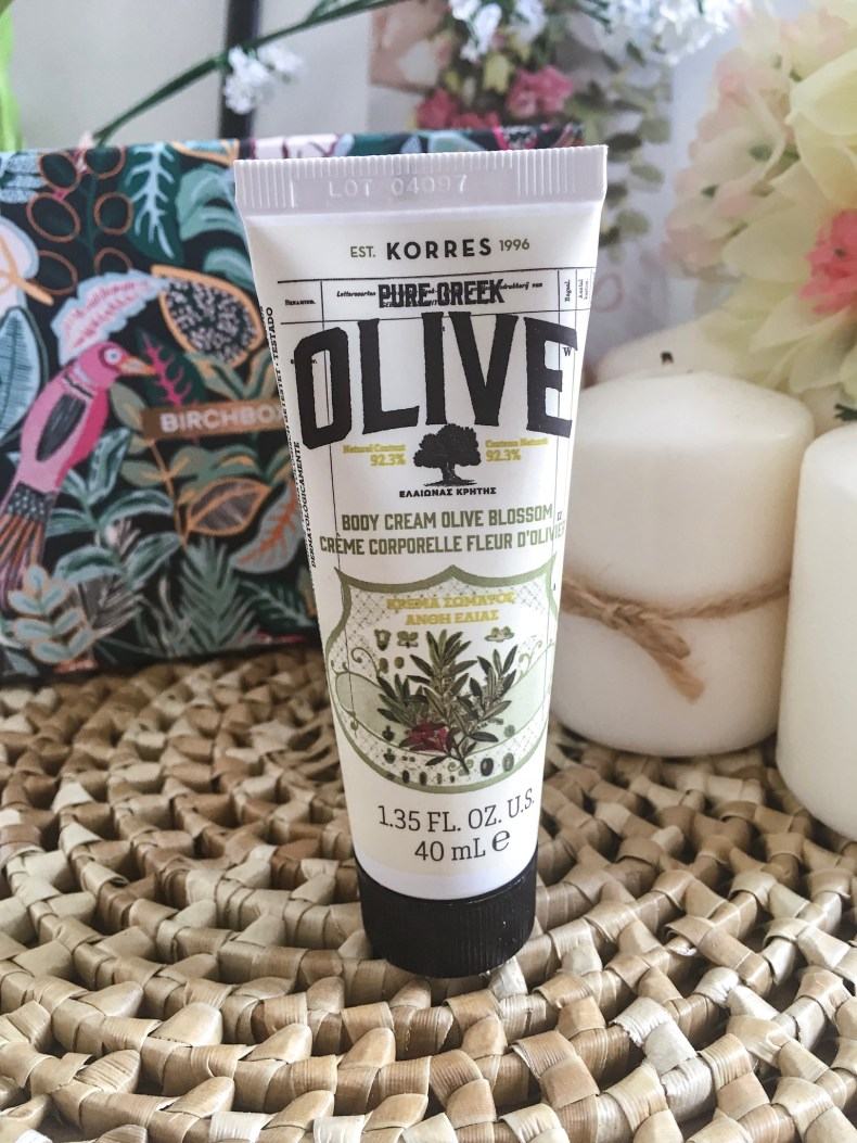 crème pour le corps Olive
